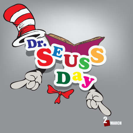 The calendar event is celebrated in March - Dr. Seuss Day