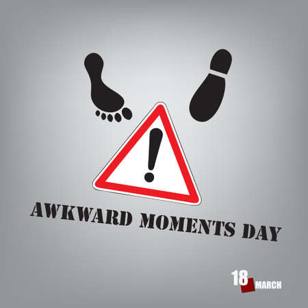 The calendar event is celebrated in March - Awkward Moments Day