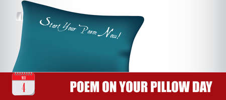 Card for event may day Poem on Your Pillow Day Çizim