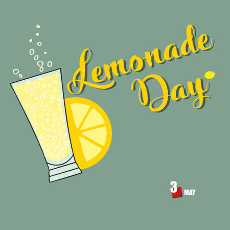 The calendar event is celebrated in may - Lemonade Day
