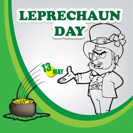 A festive event celebrated in May - Leprechaun Day