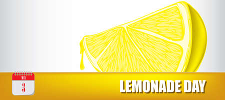 Card for event may day Lemonade Day