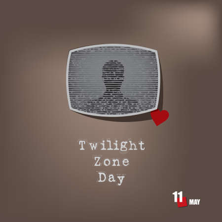 The calendar event is celebrated in may - Twilight Zone Day