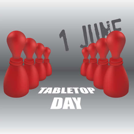 The calendar event is celebrated in june - TableTop Day