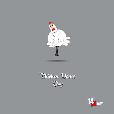 The calendar event is celebrated in may - Chicken Dance Day
