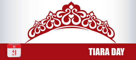 Card for event may day Tiara Day