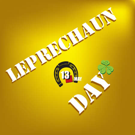 The calendar event is celebrated in may - Leprechaun Day