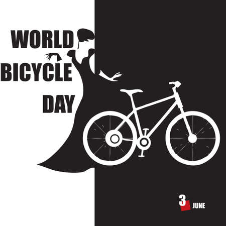 The calendar event is celebrated in june - World Bicycle Day