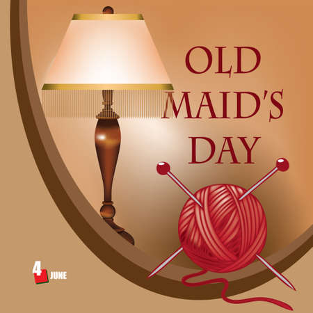 A festive event celebrated in june - Old Maid's Day
