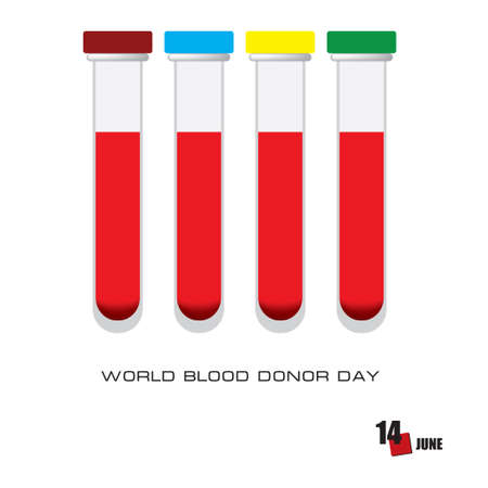The calendar event is celebrated in june - Blood Donor Day