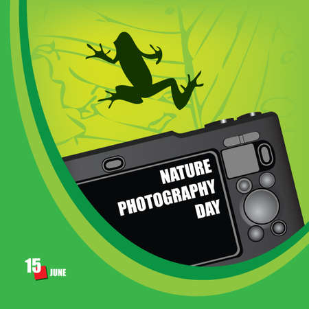 A festive event celebrated in june - Nature Photography Day