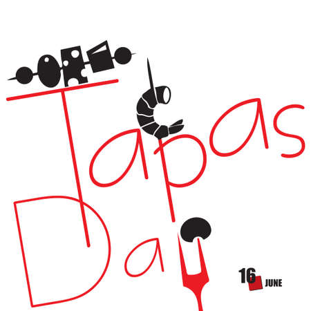 The calendar event is celebrated in june - World Tapas Day