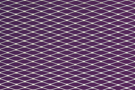 Purple and white seamless texture. structure of the mesh fence background.