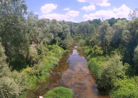 remoteness: River in countryside