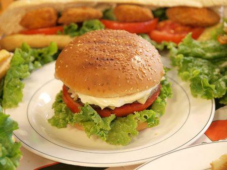 Burger Stock Photo - 7692831