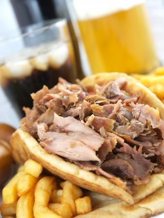 Greek Gyros or kebab Stock Photo - 6315073