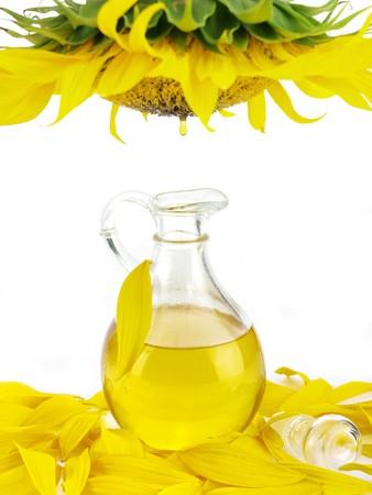 oil drops: Sunflower