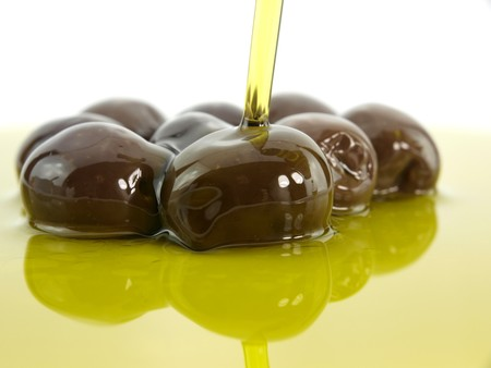 Olive and olive oil Stock Photo - 7654017