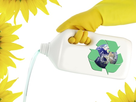 Cleaning ecological product