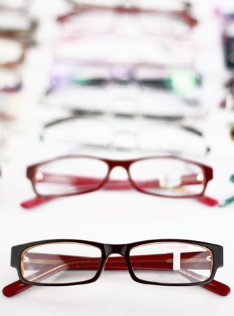 eye protection: Collection of modern medical eyeglasses