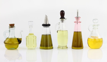 Various bottles of olive oil Stock Photo - 9747760