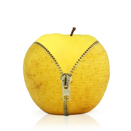 frutas secas: Concepto de lucha contra las arrugas