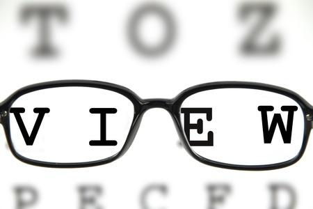 refractive: Eye Glass
