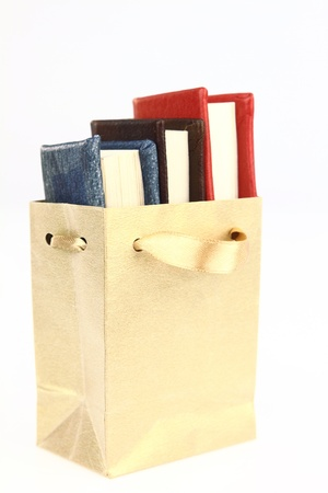 literacy instruction: Books in a paper bag