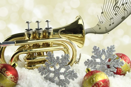 Christmas music photo