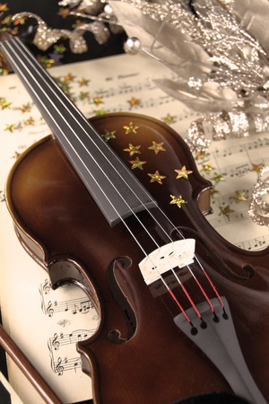 instrument of time: Christmas music