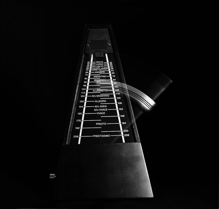 metronome: Metronomo Archivio Fotografico