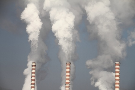 polluting:  Pollution