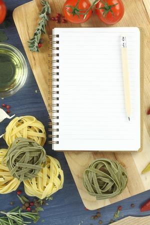Recipe book photo