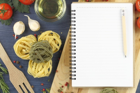 Recipe book photo
