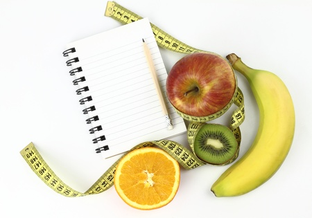 dietitian: Diet book Stock Photo