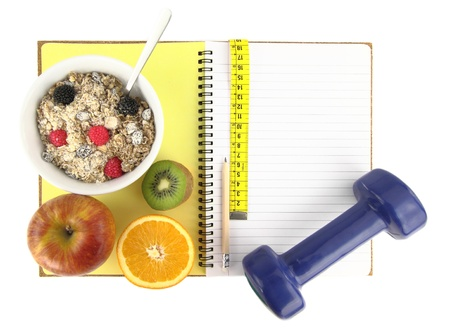 �Healthy eating� book Stock Photo - 11801631