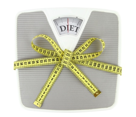 low fat diet:  A gift to yourself Stock Photo