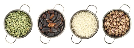 Variety of legumes photo