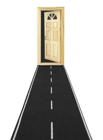 Door to unknown Stock Photo - 12372817