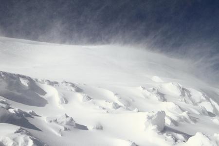 blizzard: Schneesturm
