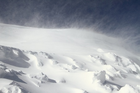 a blizzard:  Snowstorm