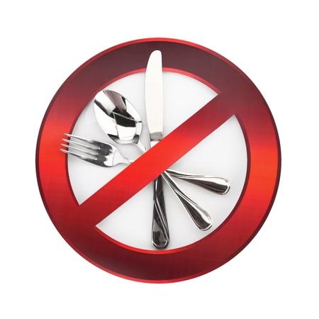 interdiction: Nourriture interdite