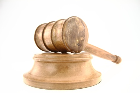 Judge's Gavel Stock Photo - 12372894