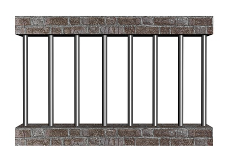 barred: Prison bars