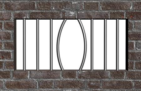 Escape from prison Stock Photo - 12372872