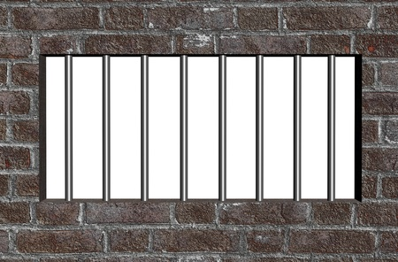 Prison bars Stock Photo - 12372873