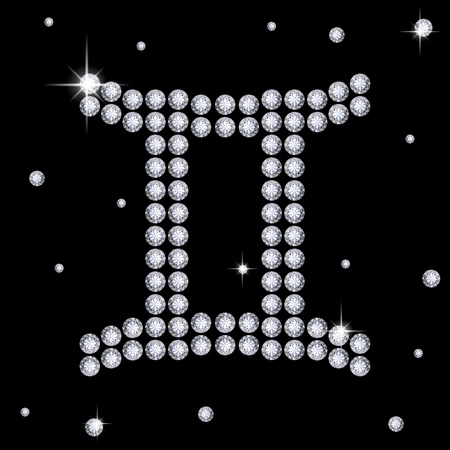 strass: Diamond Gemini
