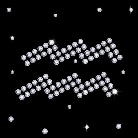 Diamond Aquarius Stock Photo - 12372886