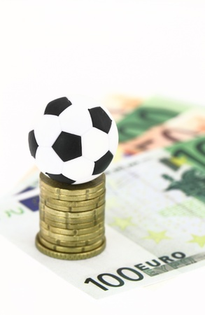 Football and money photo