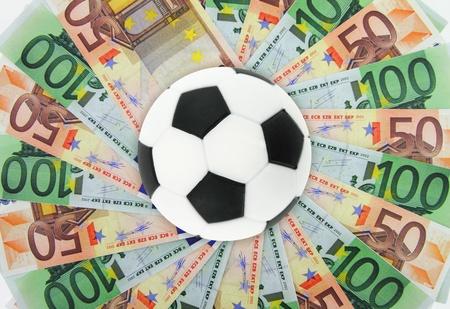Football and money Stock Photo - 12687583